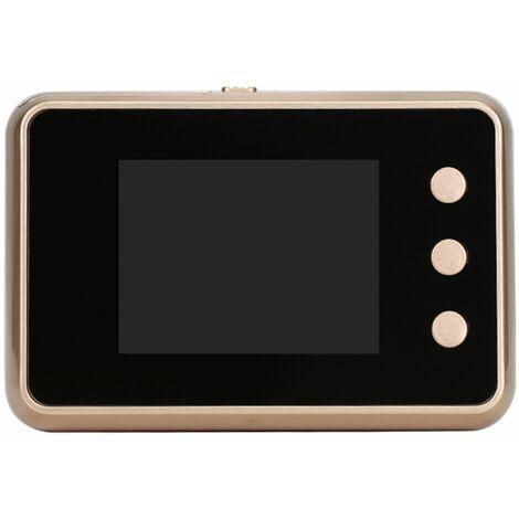 """main image of """"2,8 Pouces Haute Definition Alimente Par Batterie Numerique De Controle D'Acces Moniteur Lcd Intelligent Oeil De Chat Numerique"""""""