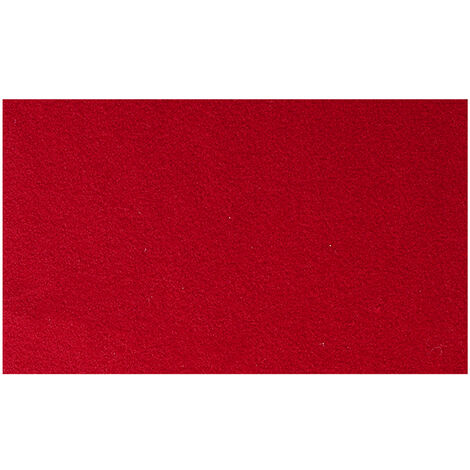 """main image of """"280x140cm Worsted Billiard Pool Snooker Table Cloth Felt Cover w/6Pcs Felt Strip red"""""""