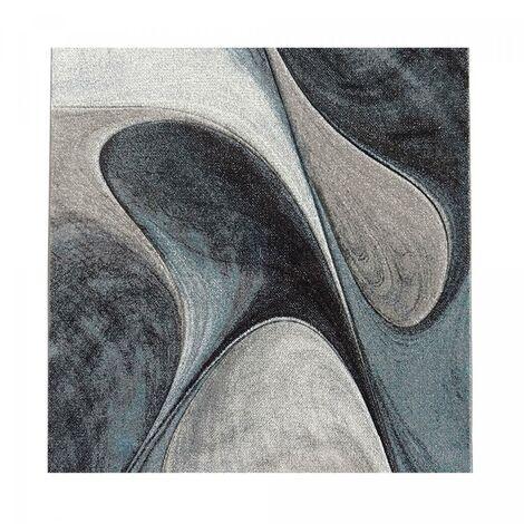 280x380 60x110 - UN AMOUR DE TAPIS - Tapis Salon Moderne Design Poils Ras Rectangulaire - Petit Tapis d Entree Interieur - Tapis Entree Rouge Gris Noir