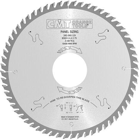 Lame industriali CMT denti trapezoidali neg lamitati e truciolari 281.6