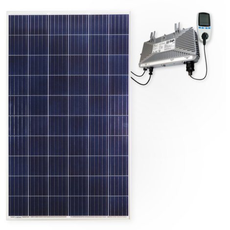 285 Watt Solar Photovoltaik Plug & Play Mini-Solaranlage für die Steckdose