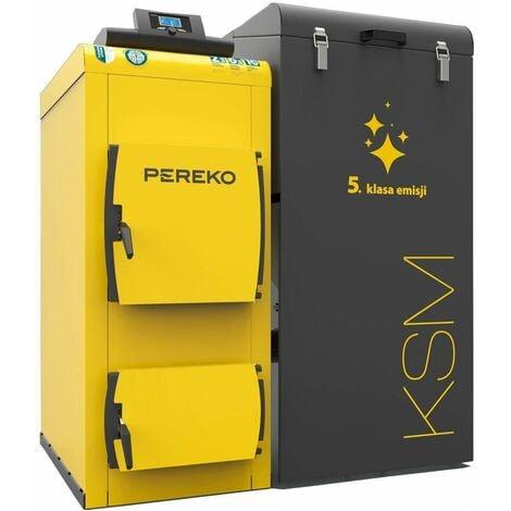 28kw chauffage efficace 5ème classe énergétique chaudière éco-pois charbon pereko ksm
