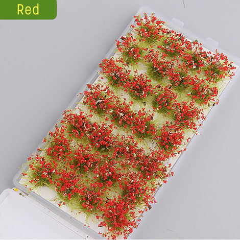 28Pcs Cute Garden Miniature Moss Flower Fairy Micro Landscape Resin Decor Crafts