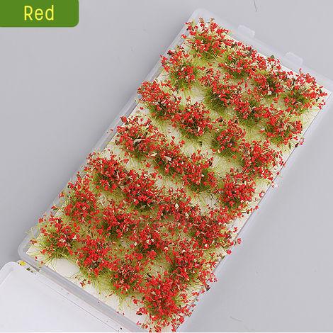 28pcs Cute Garden Miniature Moss Flower Fairy Micro Landscape Resin Decor Crafts B Hasaki