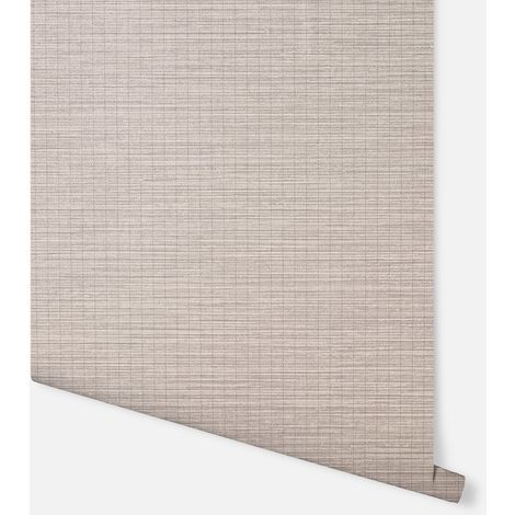 296400 - Oasis Grasscloth Taupe - Arthouse Wallpaper