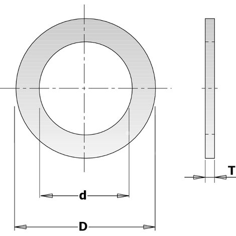 299 299 - REDUCTION RINGS FOR CIRCULAR SAW BLADE BORE