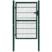2D Fence Gate (Single) Green 106 x 210 cm