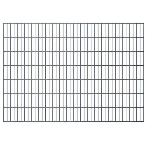 2D Garden Fence Panels 2008x1430 mm 50 m Grey