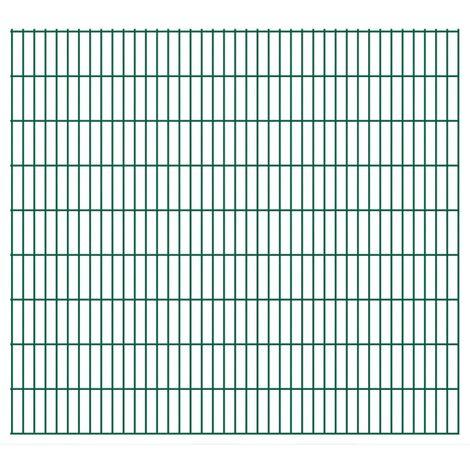 2D Garden Fence Panels 2008x1830 mm 50 m Green