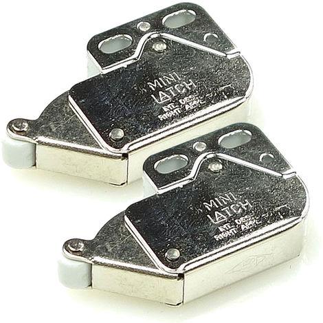 2er-Pack FRANKE Sorter 95 Schnäpper Metal (133.0045.565) - Einraster, öffnen und schließen durch drücken