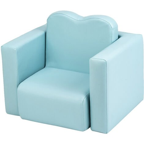 2in1 Children Sofa Multi-Functional Kids Armchair Sofa and Table-different color