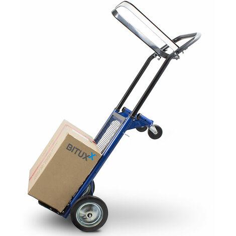 2in1 Multifunktionskarre Sackkarre klappbar Transportkarre Handkarre Stapelkarre Plattformwagen 80kg