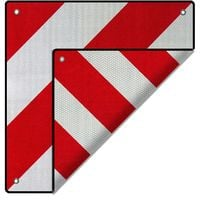 2in1 REAR WARNING SIGN Spain and Italy motorhome signal reflector towing bike rack caravan