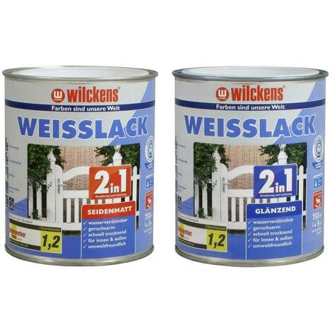 2in1 Weißlacke 750 ml