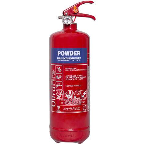 "main image of ""2kg Powder Fire Extinguisher - UltraFire"""