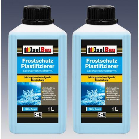 2L Beton-Zusatzmittel Frostschutz Plastifizierer Fliessmittel Betonverflüssiger