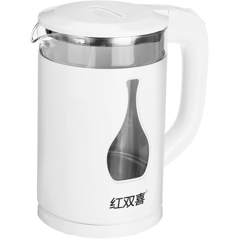 2L Electric glass kettle 1500W boil quickly