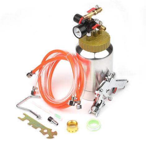 2L Presion del calderin de aire del tanque con la pistola de pulverizacion y el regulador de piedra natural pulverizador masilla pulverizador de pintura pulverizador