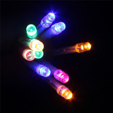 2M 20 Led String Lights Strip Party Christmas Party Decoration Rgb Hasaki