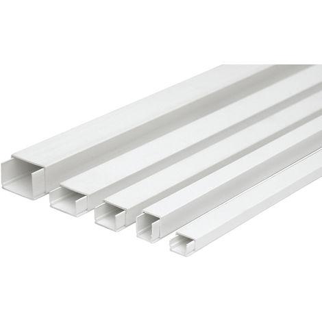 2m. canaleta a tornillo blanca 7x12mm. (Legrand 636351)