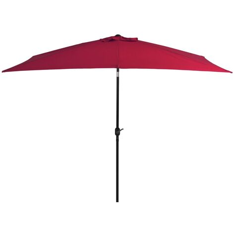 2m Traditional Parasol by Freeport Park - Red