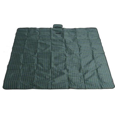 2m*2m Mat Tapis de Sol Couverture Etanche Pliable Pour Pique-nique Camping Plage Vert
