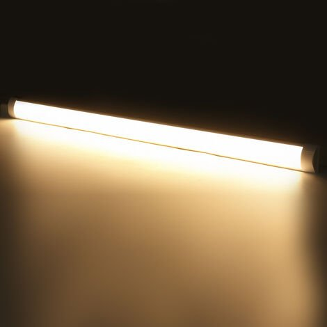 2pcs 120cm 96led Tubo de luz de aluminio para oficina en casa 220V