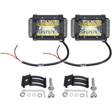 2pcs 3.5 Inch 10~30V 36LED Work Light Bar Side Shooter Combo Driving Lamp Offroad SUV ATV UTV 4WD