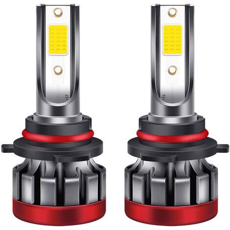 2PCS 9006 / HB4 LED de la niebla de las bombillas 3000K amarillas 3000 lumenes 30W de alta potencia LED de la luz de niebla de los bulbos DRL para Autos Camiones