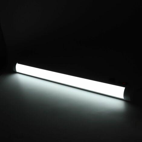 2pcs 90cm Tube lumineux 72led en aluminium pour maison bureau 220V