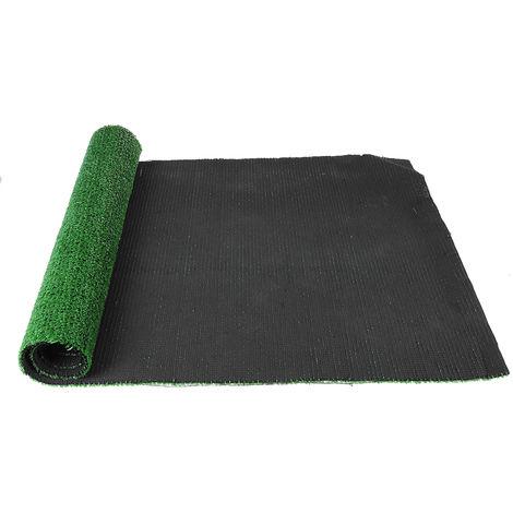 2pcs Artificial Grass Roll Rest Offcut Mat Realistic Green Garden 0.5x1m 2.5cm Thickness Sasicare