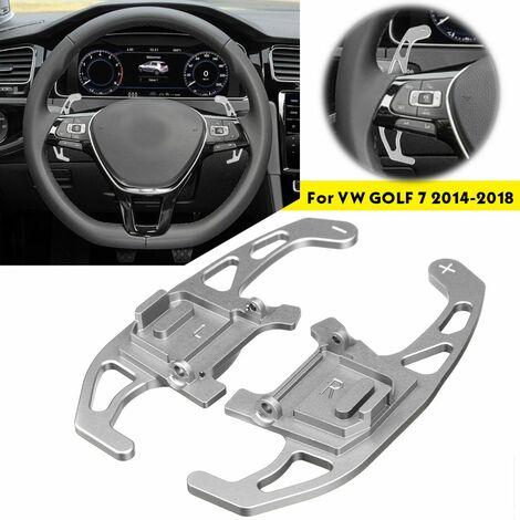 2pcs Car Steering Wheel Shift Paddle For Volkswagen VW GOLF GTI MK7 / GOLF R MK7 / GOLF GTD MK7 / GOLF GTE MK7 2013-2016 & amp;?2017 2018
