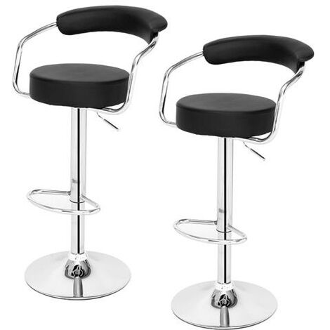 2pcs High-grade Bar Stool/Kitchen Round Back Cushion Bar Stool-different color