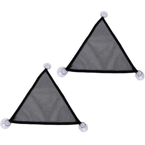 2Pcs/Set Pet Hammock Hanging Net Bed Triangular Swing Mesh Mat Sleeping Bed Toys