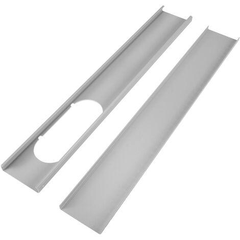 2PCs Window Slide Kit 130cm Pr Aire acondicionado móvil Aire acondicionado Portátil Mohoo