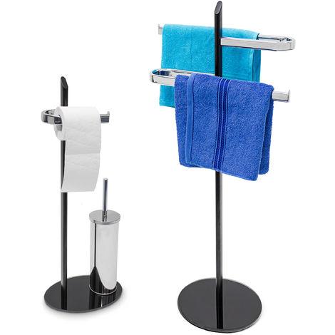 2tlg Badezimmer Set KLASS, WC Garnitur freistehend ...