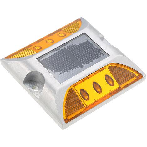 2W 6 LED Solar Powered Driveway Lamp Light Control Good Bearing Capacity IP68 Waterproof
