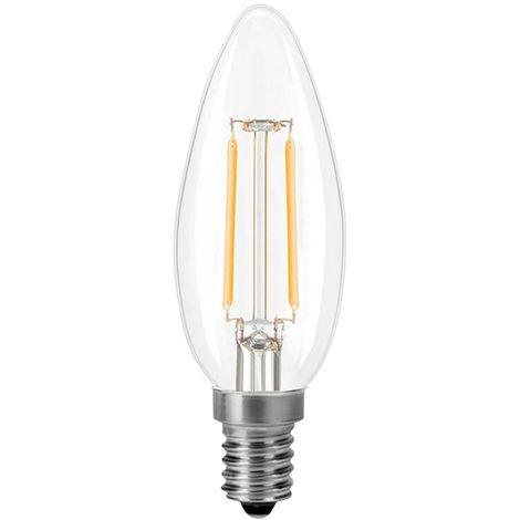 2W luz LED, 2700K, blanco calido, E14