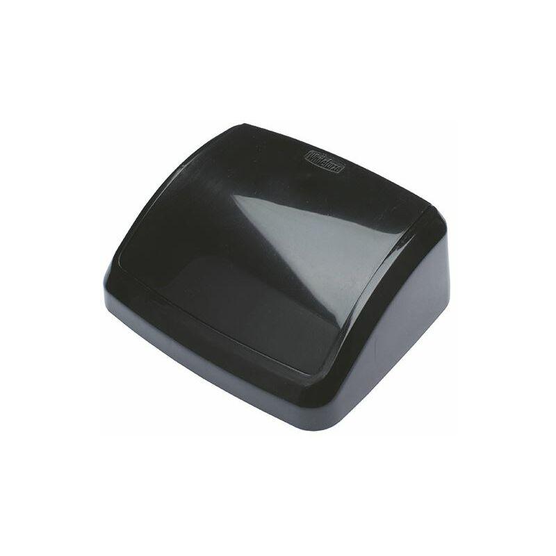2Work Black 10L Swing Bin Top Only - 2W02396