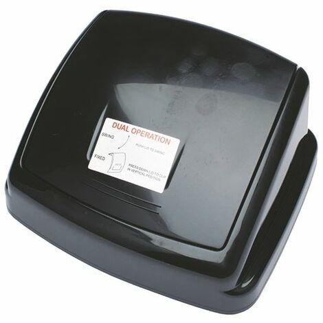 2Work Black 30L Swing Bin Top Only - 2W02394
