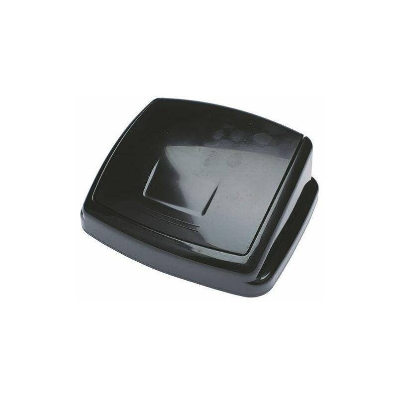 2Work Black 50L Swing Bin Top Only - 2W02392