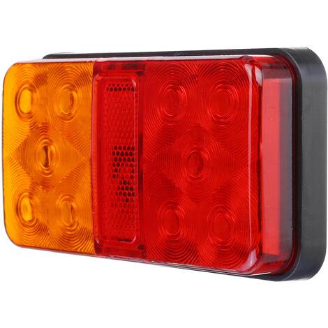 2X 10 LED indicateur d'arrêt arrière feux arrière remorque camion camion caravane van 12-80V 12V 10LED