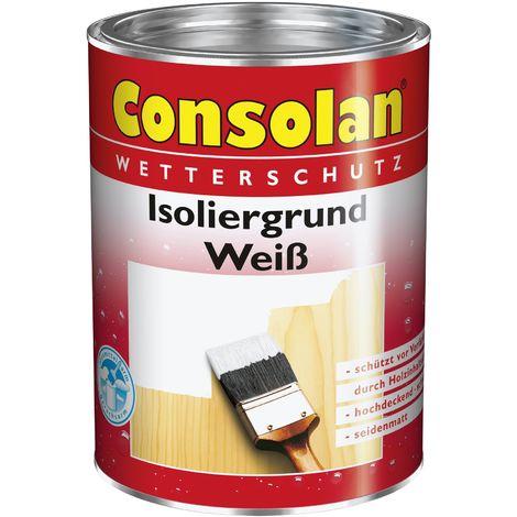 2x 2,5L Consolan Isoliergrund weiss