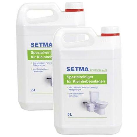 2x 5L SETMA Entkalker für Kleinhebeanlage