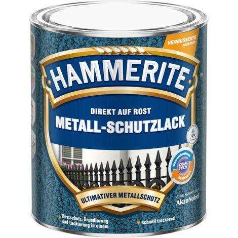 2x 750ml Hammerite Msl Hammerschlag dunkelgrün