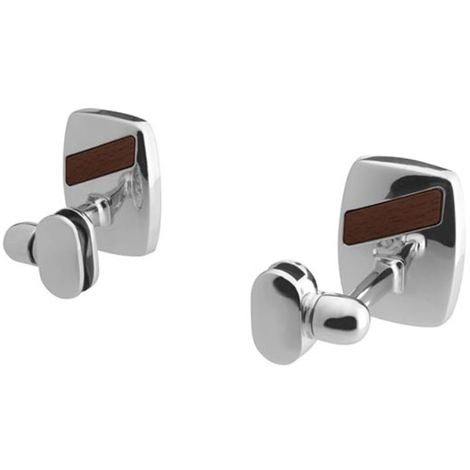 "main image of ""2x Bathroom Handle Mirror Grip Modern Chrome Plated Zamak Wall Mounted"""