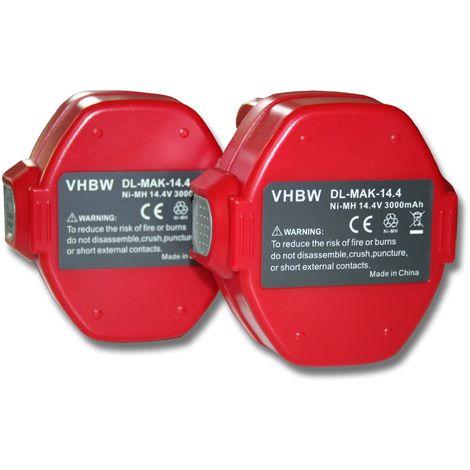 193159-1 Outil Batterie 14.4 V 3000 mAh pour Makita 193158-3