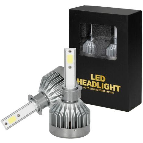 2X Bombillas lámpara halogena H1 luz blanca tipo Xenon 6000 K 12 V 15 W nuevo