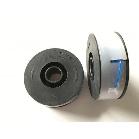 2x canette avec fil bleu torsadé