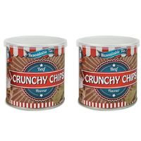2x Dog Pet Crunchy Chips Beef Flavour